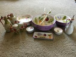 Kitchen Prep 101 Complete Set For Salad And Pasta And Dippin
