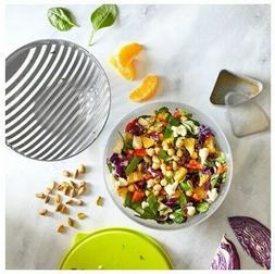 Pampered Chef : Salad Cutting Bowl