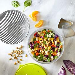 Pampered Chef : Salad Cutting Bowl Set - Free shipping - New