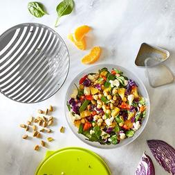Pampered Chef Salad Cutting Bowl with Lid