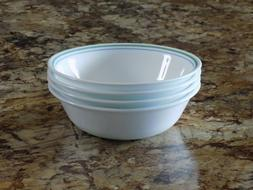 """Set of 4 Corelle Country Cottage 6 1/4"""" Soup Cereal Salad Bo"""